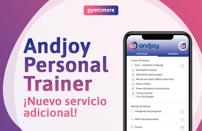 Andjoy lanza una aplicación de entrenamiento personal