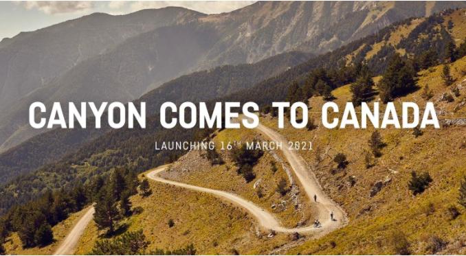 Canyon desembarca en Canadá con su modelo de venta directa