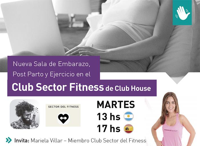 Embarazo Activo estrena sala en la plataforma Club House