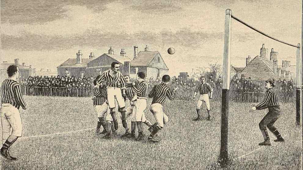 Breve historia del fútbol hasta la era de Internet