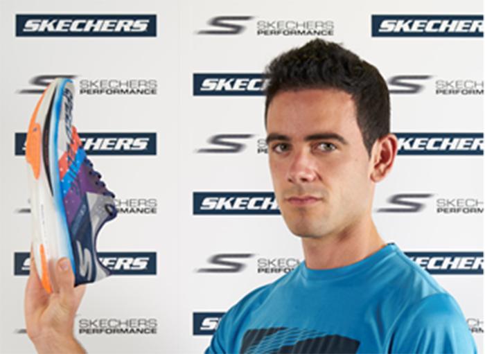 Diego García Carrera bate el récord de 20km marcha de la mano de Skechers