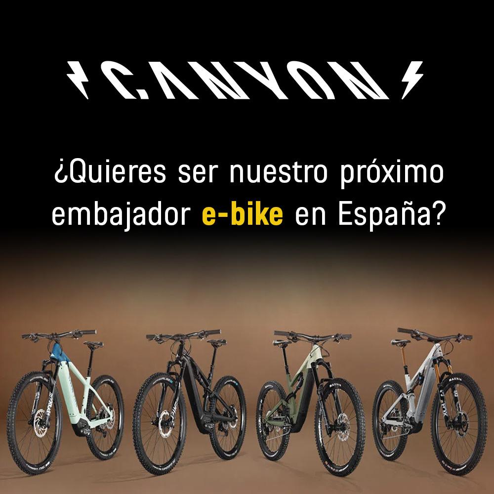 Canyon busca embajadores para sus e-bikes