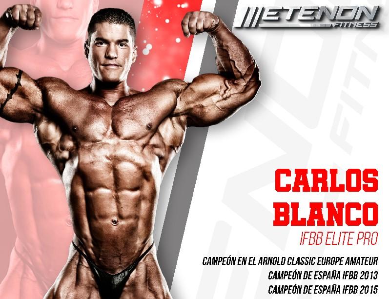 Etenon Fitness ficha al culturista profesional Carlos Blanco