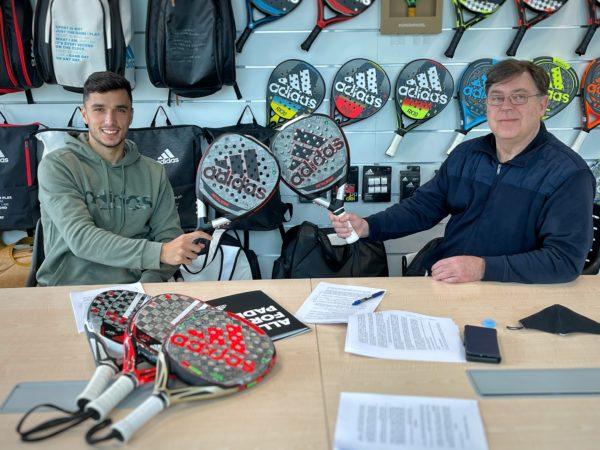 Adidas Padel renueva con Ale Galán por 3 años
