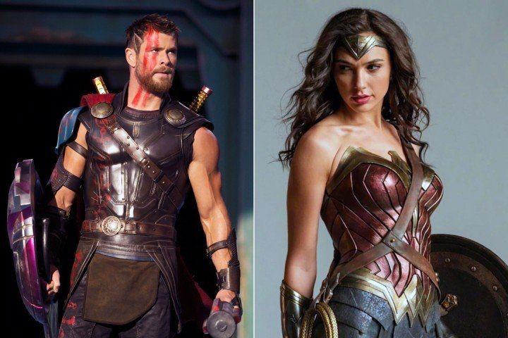 Chris Hemsworth y Gal Gadot, los más buscados para motivarse en el gimnasio