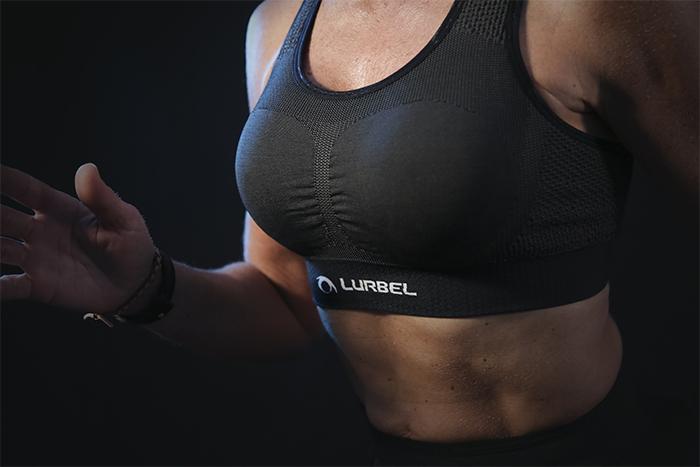 Lurbel lanza el top femenino Cristallo Bra para deportes de alto impacto