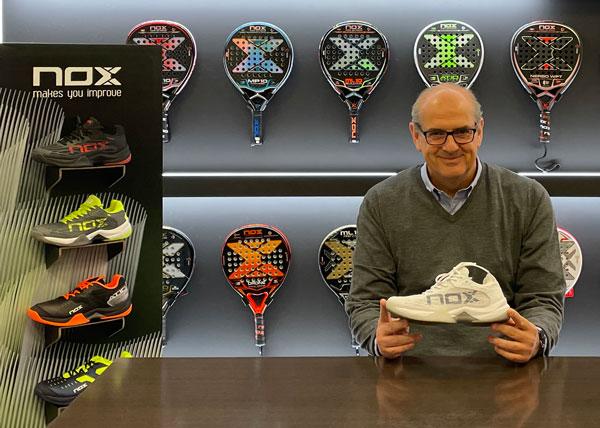 Nox incorpora el calzado a su portfolio de productos para pádel