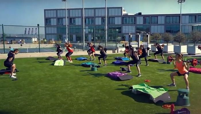 El Rafa Nadal Club estrena una zona fitness outdoor de 350 m2