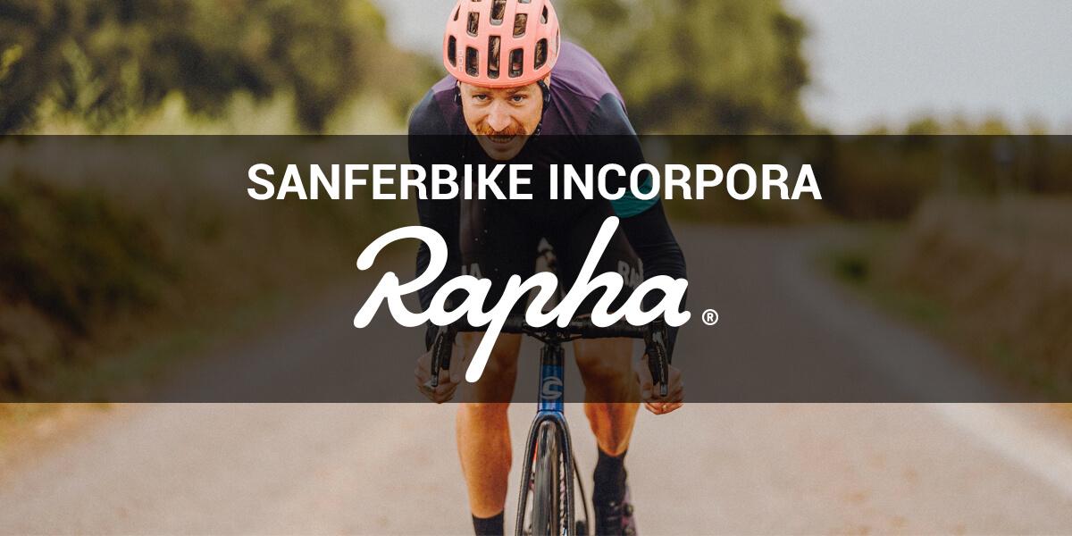 Sanferbike incorpora la marca Rapha a su portfolio