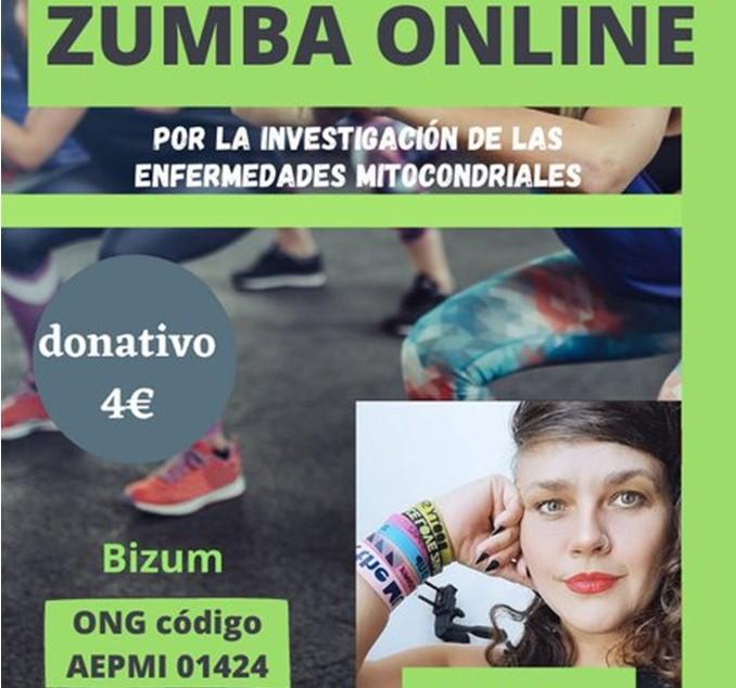 Sesión solidaria de Zumba para la investigación de las enfermedades mitocondriales