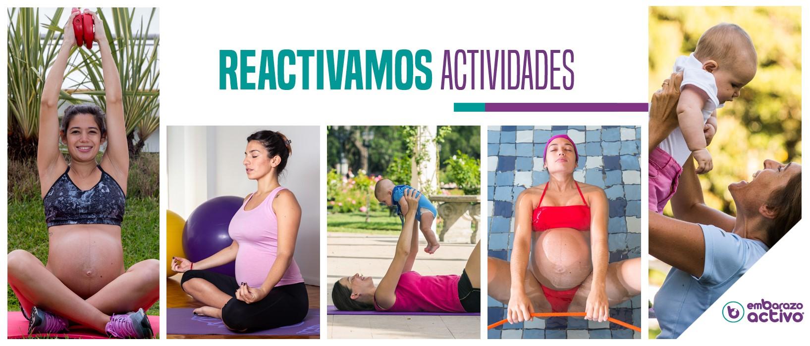 'Embarazo Musical' y 'Taller de Porteo', nuevas actividades de Embarazo Activo