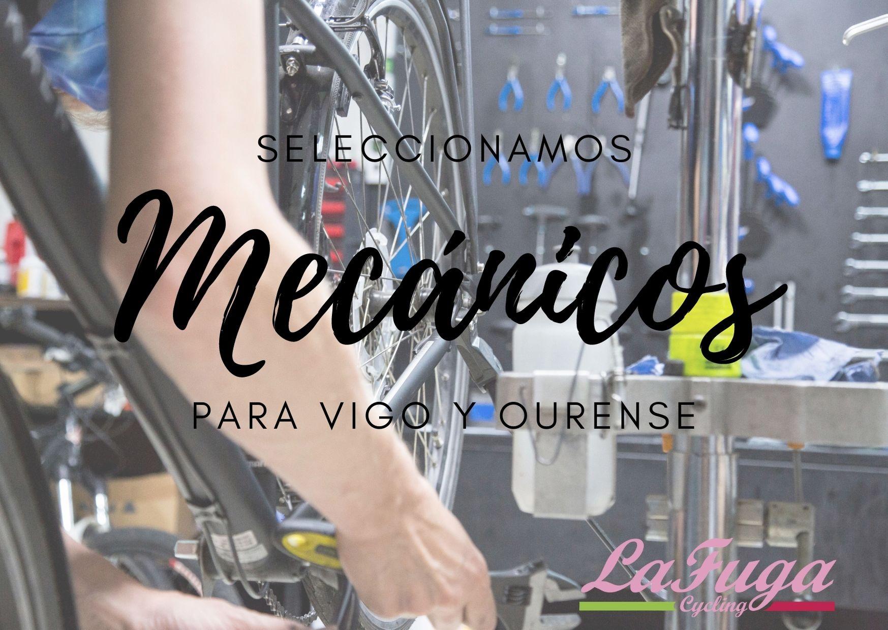 LaFuga Cycling busca dos mecánicos para sus tiendas de Vigo y Ourense