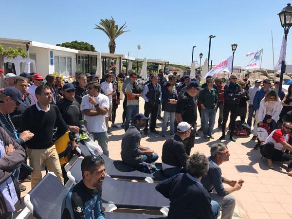 Sant Pol de Mar prepara el Campeonato de Cataluña 2021 de patín a vela