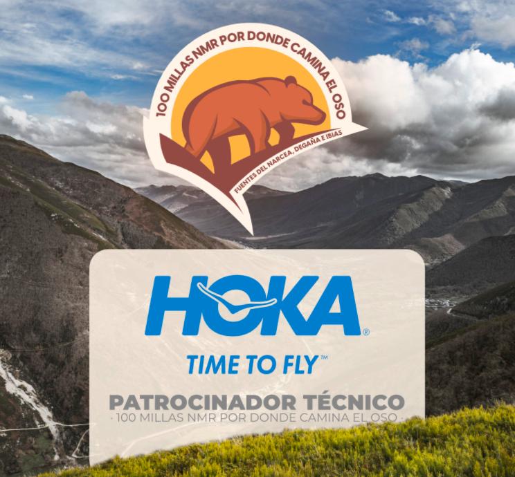 Hoka One One, sponsor técnico de las 100 millas NMR por donde camina el oso