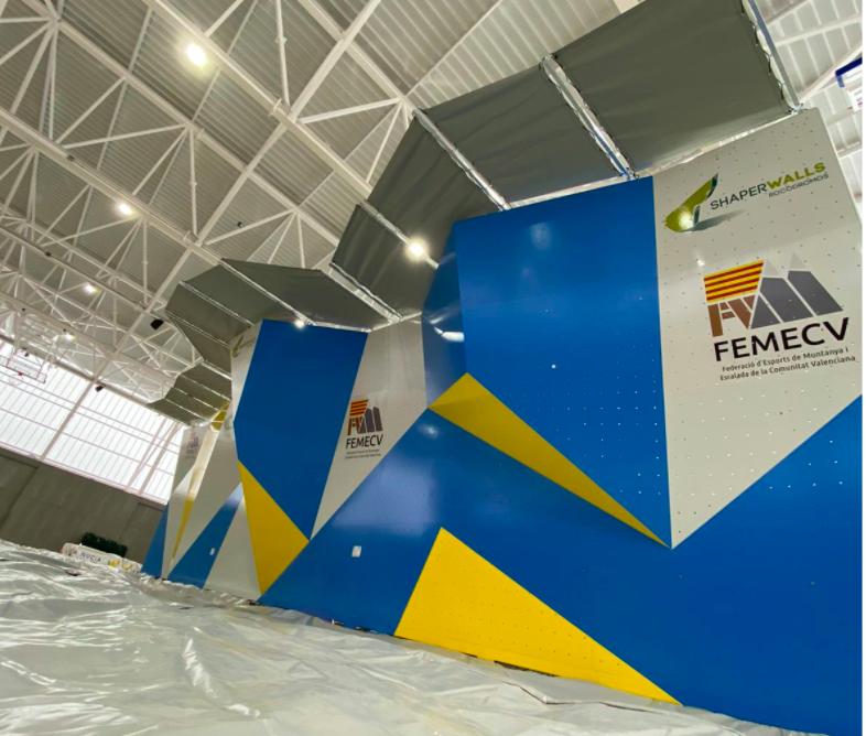 La FEMECV estrena este fin de semana su nuevo rocódromo en La Nucía