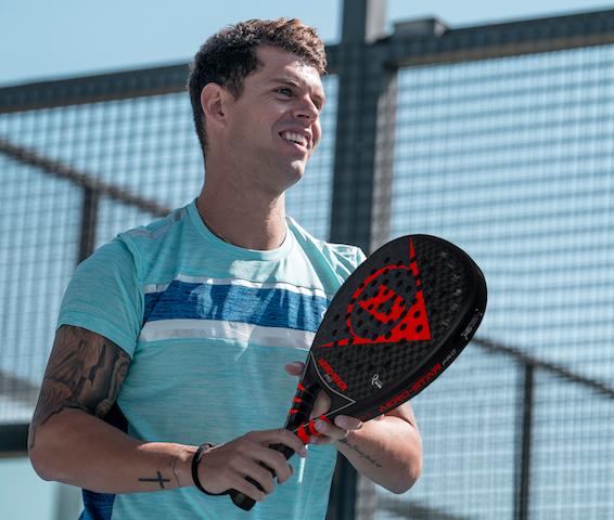 El pádel supera al tenis en la facturación de Dunlop España