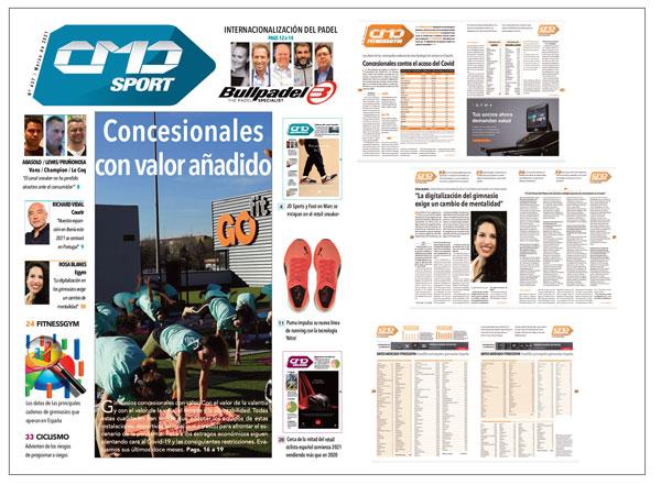 Radiografía de los gimnasios concesionales en España