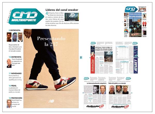 Foot on Mars planta cara a JD Sports en el retail de sneakers