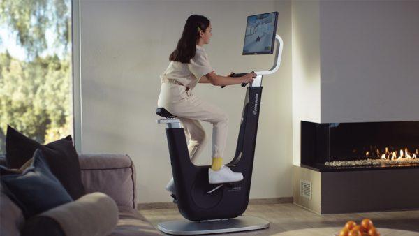 Combinan fitness y e-games en una bicicleta estática