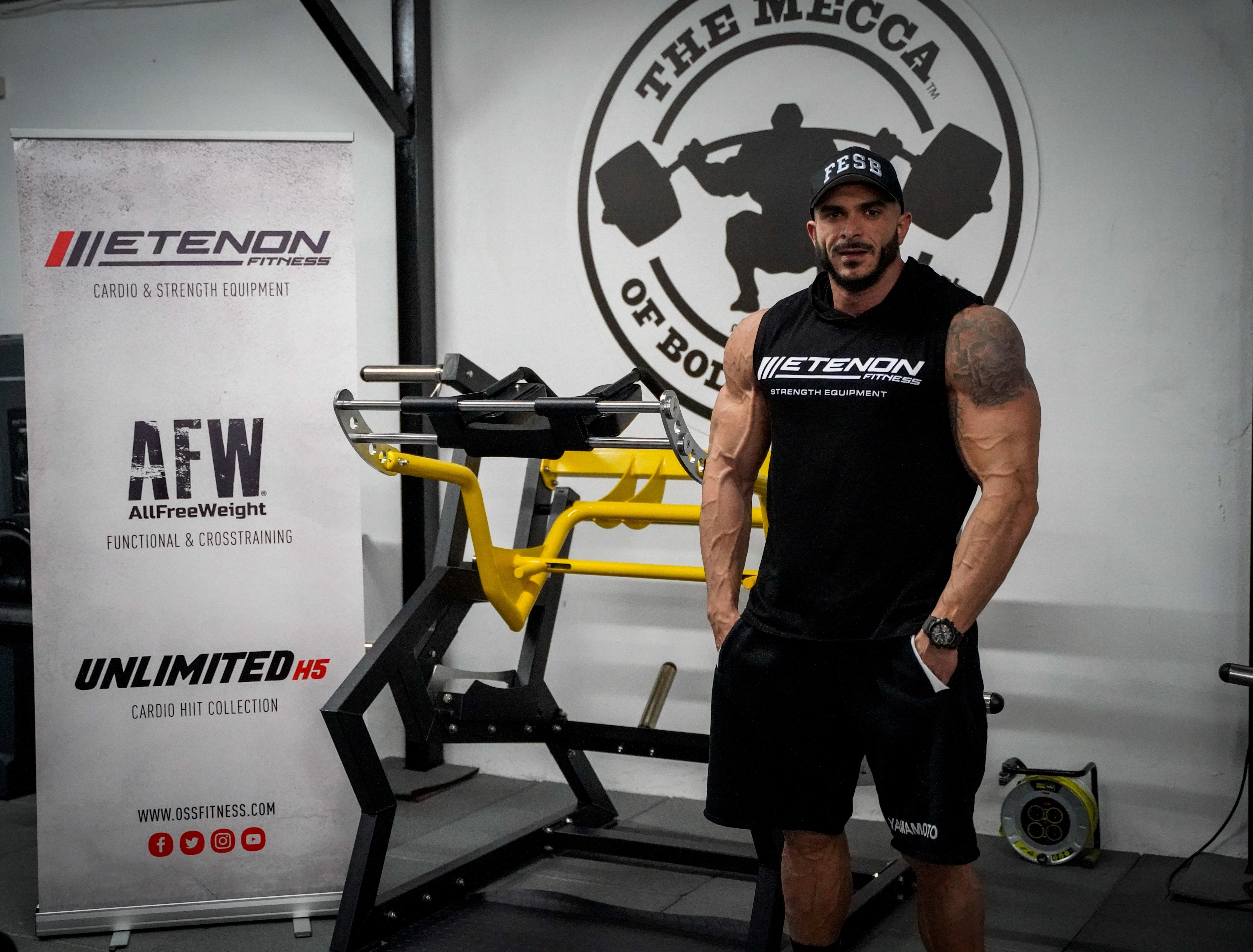 Etenon Fitness ficha a la joven promesa Fede Guevara