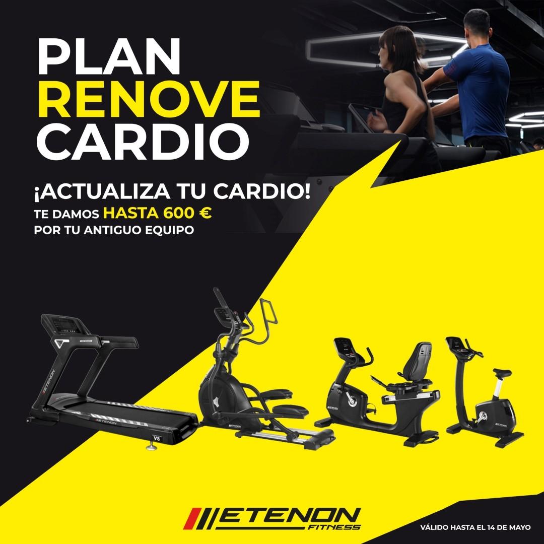 Etenon Fitness ofrece un especial 'Plan Renove' con su nueva serie V8