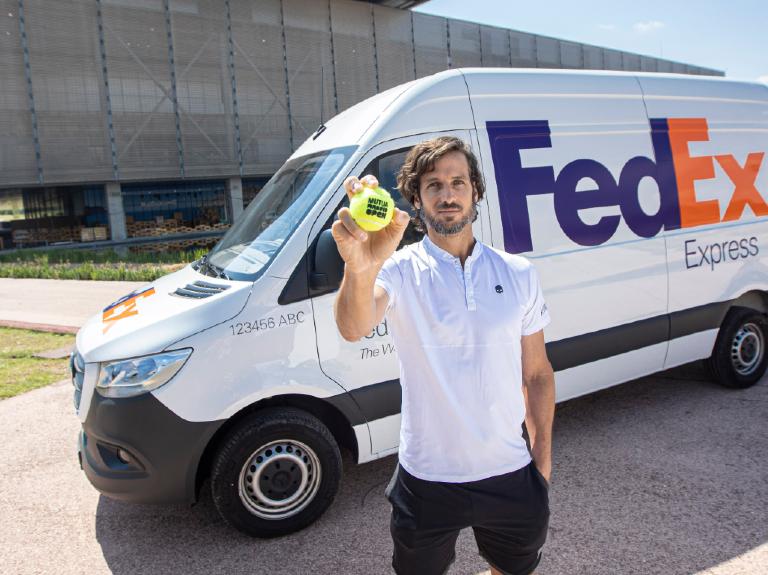FedEx patrocina por segunda vez el Madrid Mutua Open