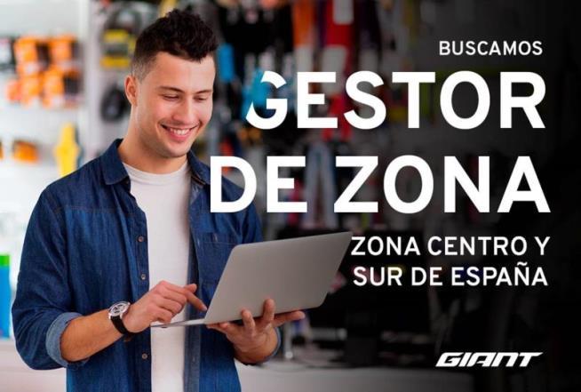 Giant busca un gestor comercial para la zona centro y sur de España