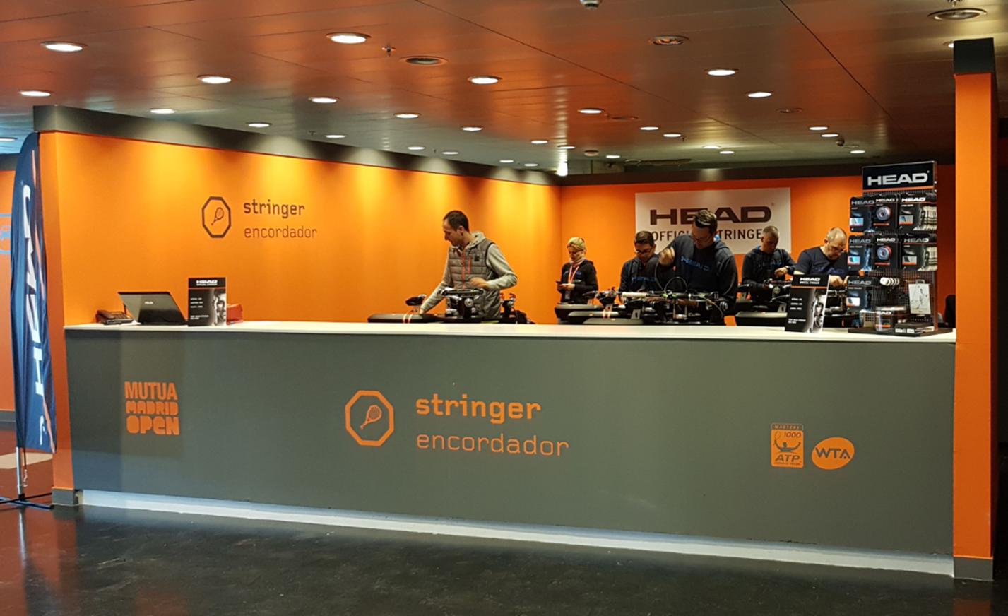 Head ofrecerá el servicio de encordado en el Madrid Mutua Open
