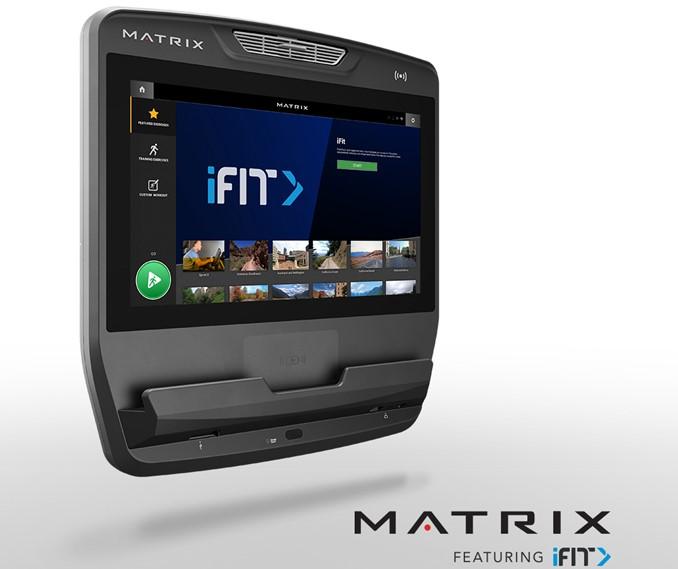 Matrix Fitness se asocia con el fitness interactivo de iFIT