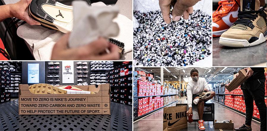 Nike estrena un programa para extender la vida útil de las zapatillas devueltas