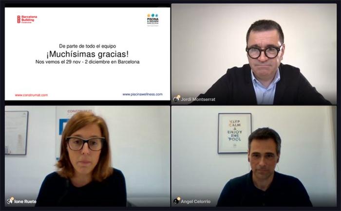 Innovación y sostenibilidad, los ejes de la unión entre Construmat y Piscina y Wellness Barcelona