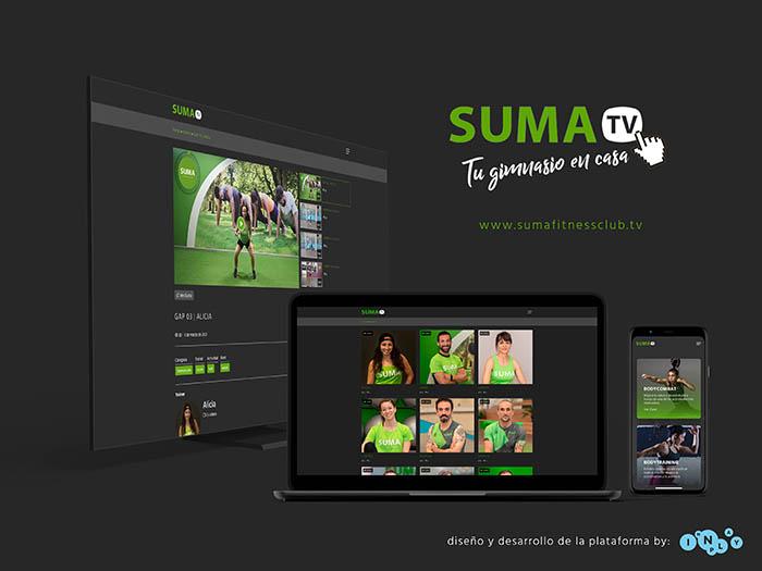 Suma Fitness actualiza su plataforma de gimnasio online
