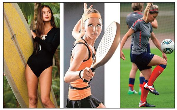 Las federaciones más atractivas para las deportistas españolas