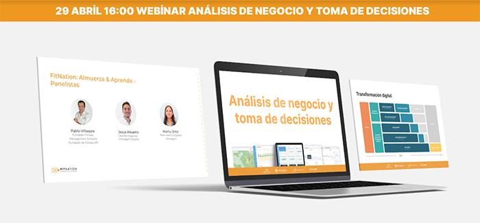 Pablo Viñaspre impartirá un webinar sobre Análisis de datos y toma de decisiones