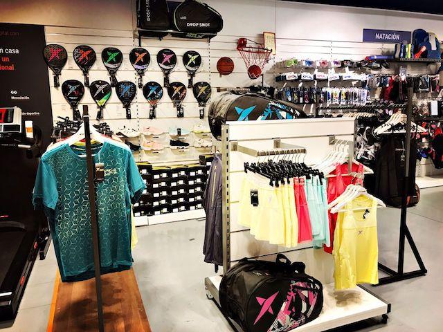 Intersport se alía con Drop Shot para desarrollar el pádel en sus tiendas propias