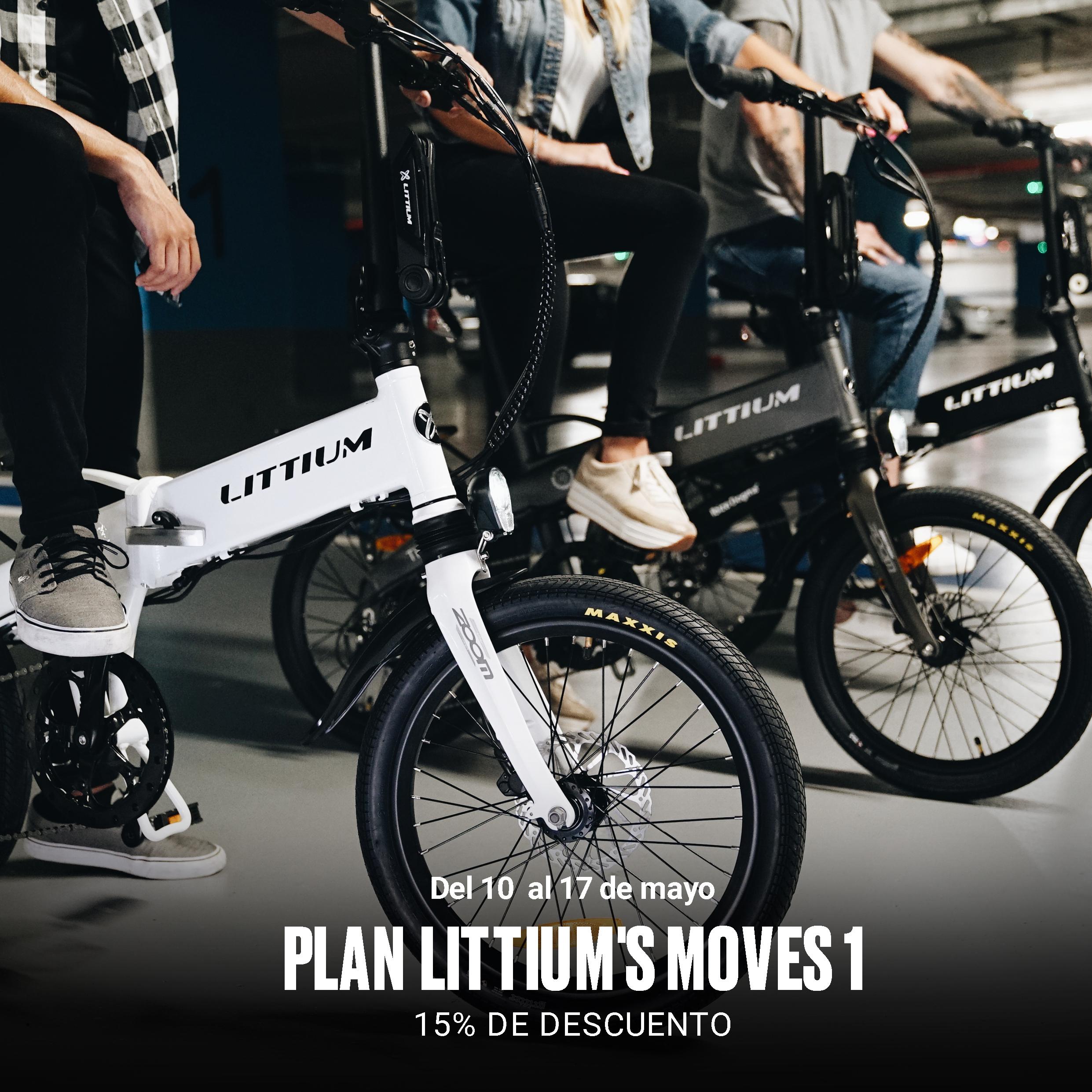 Littium rebaja el precio de sus bicicletas un 15% durante una semana