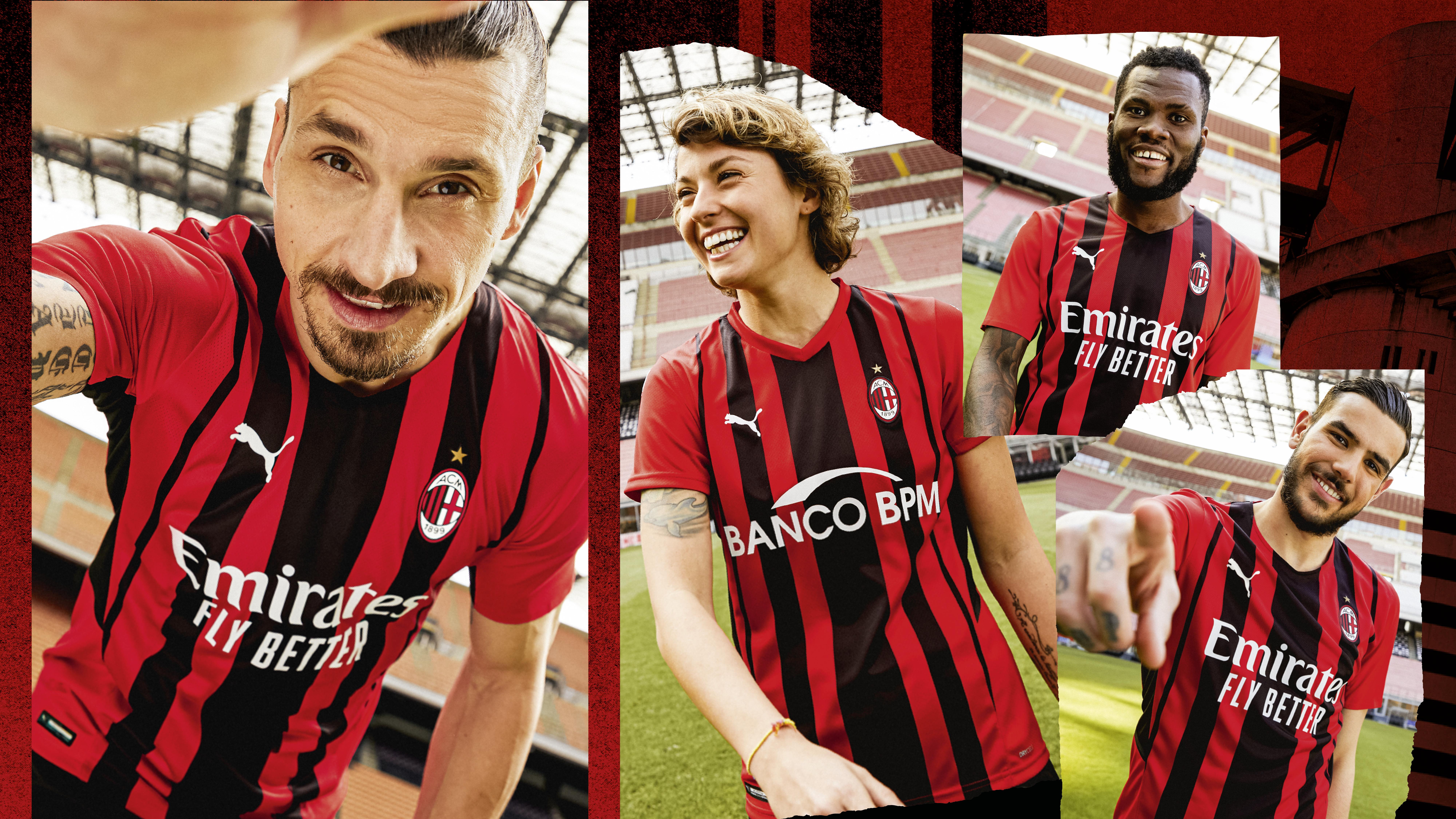 Puma presenta la nueva equipación del AC Milan para la próxima temporada
