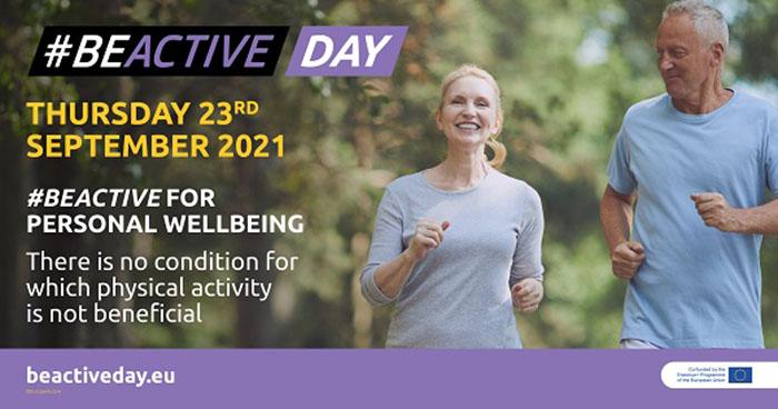 EuropeActive comienza los preparativos del #BeActive Day 2021