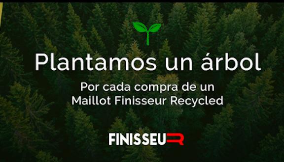 Deporvillage plantará un arbol por cada maillot Finisseur Core Recycled vendido