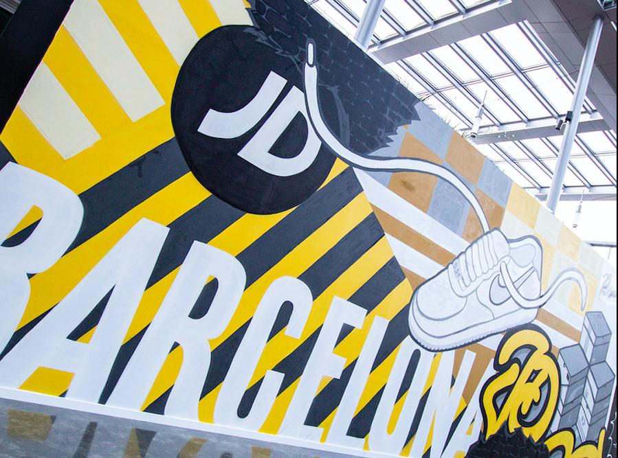 JD Sports reabre su tienda en La Maquinista el próximo 20 de mayo