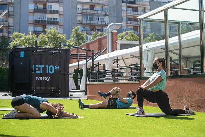 CET10 apuesta por el fitness outdoor de la mano de Evergy