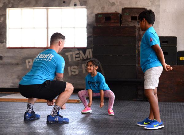 CrossFit quiere ganarse también al público infantil y adolescente