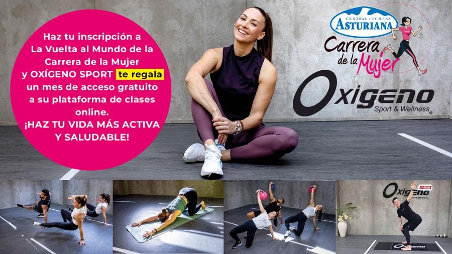 El gimnasio Oxígeno Sport se suma al reto solidario 'Vuelta al mundo'