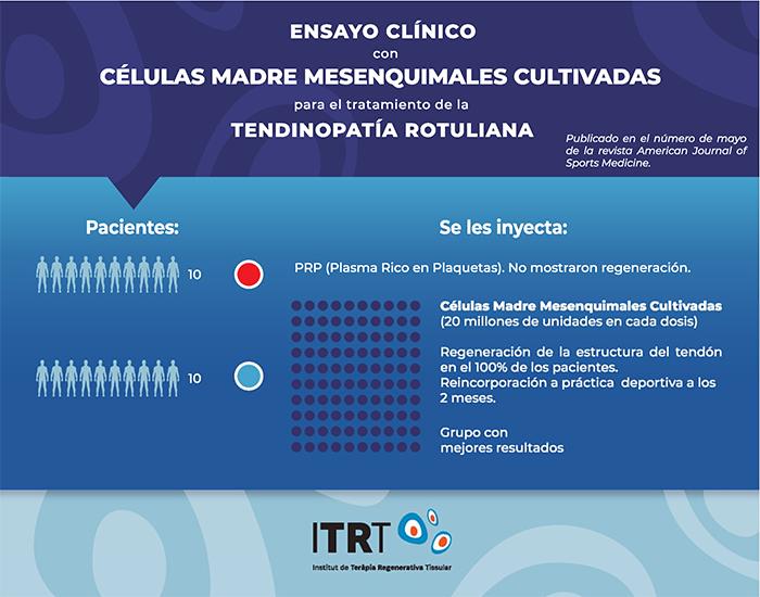 Médicos españoles consiguen regenerar tendones por primera vez en el mundo
