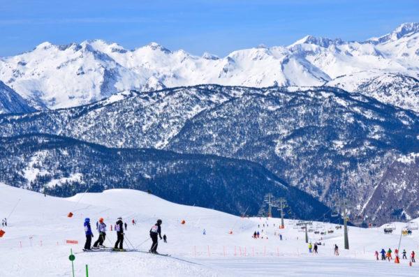 Las estaciones de esquí catalanas pierden un 69,4% de sus ingresos