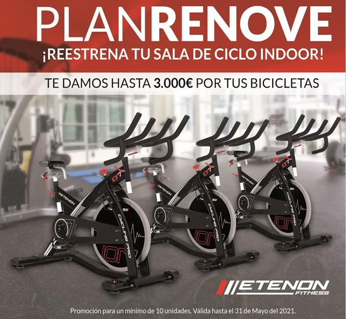 Etenon Fitness lanza un Plan Renove para las salas de ciclo indoor