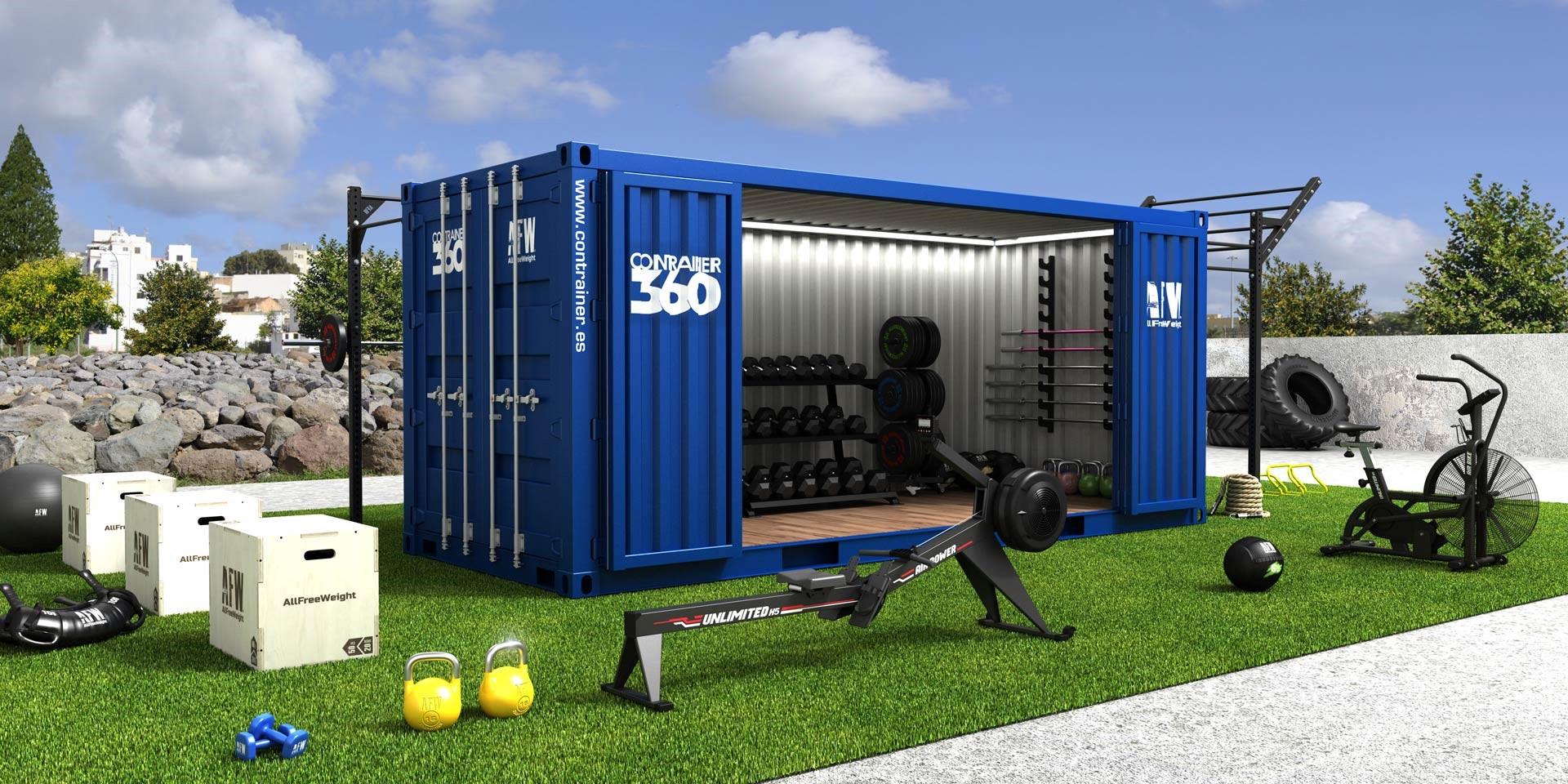 Contrainer 360 ultima el debut del nuevo prototipo de gimnasio modular