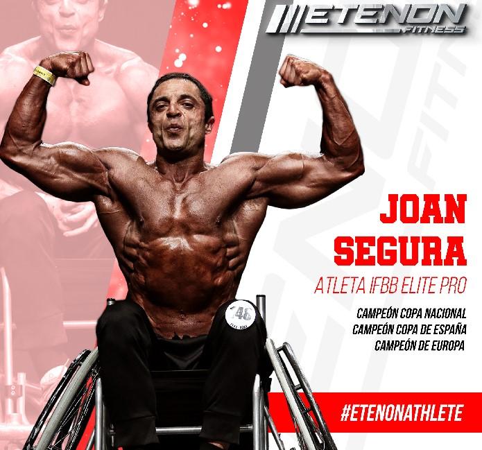 Joan Segura, atleta de Wheelchair Bodybuilder, fichaje de Etenon Fitness
