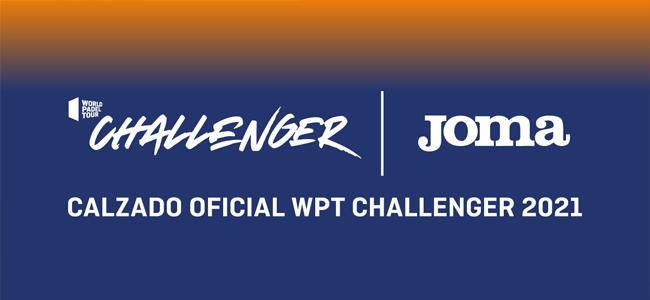 Joma será la zapatilla oficial del World Padel Tour Challenger
