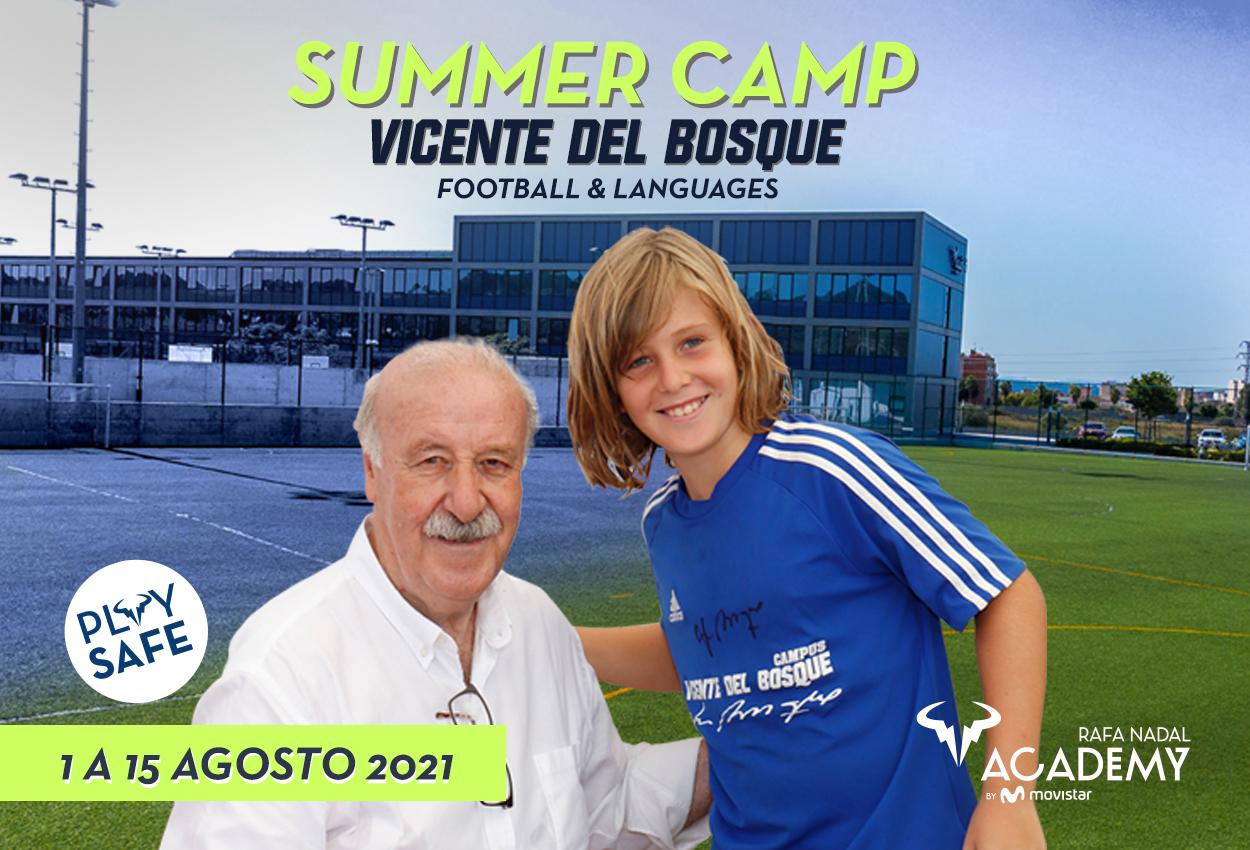 La academia de Rafa Nadal acogerá el campus de verano de Vicente del Bosque